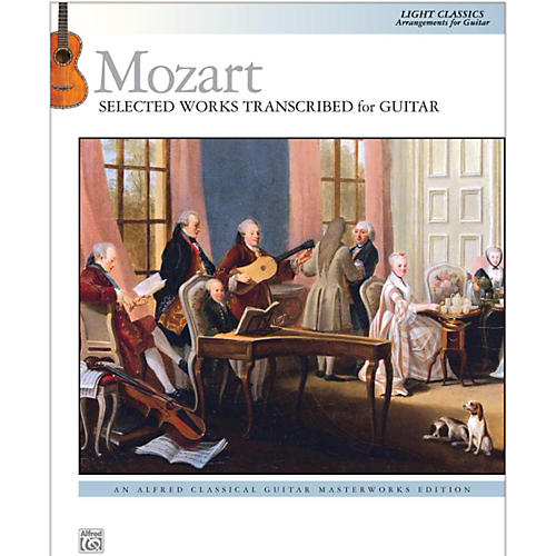 Alfred Mozart  Selected Works Transcribed for Guitar Book thumbnail