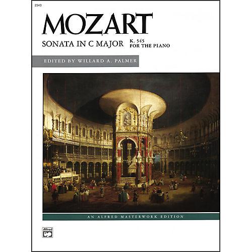 Alfred Mozart Sonata in C K. 545 (Complete) Late Intermediate Piano thumbnail