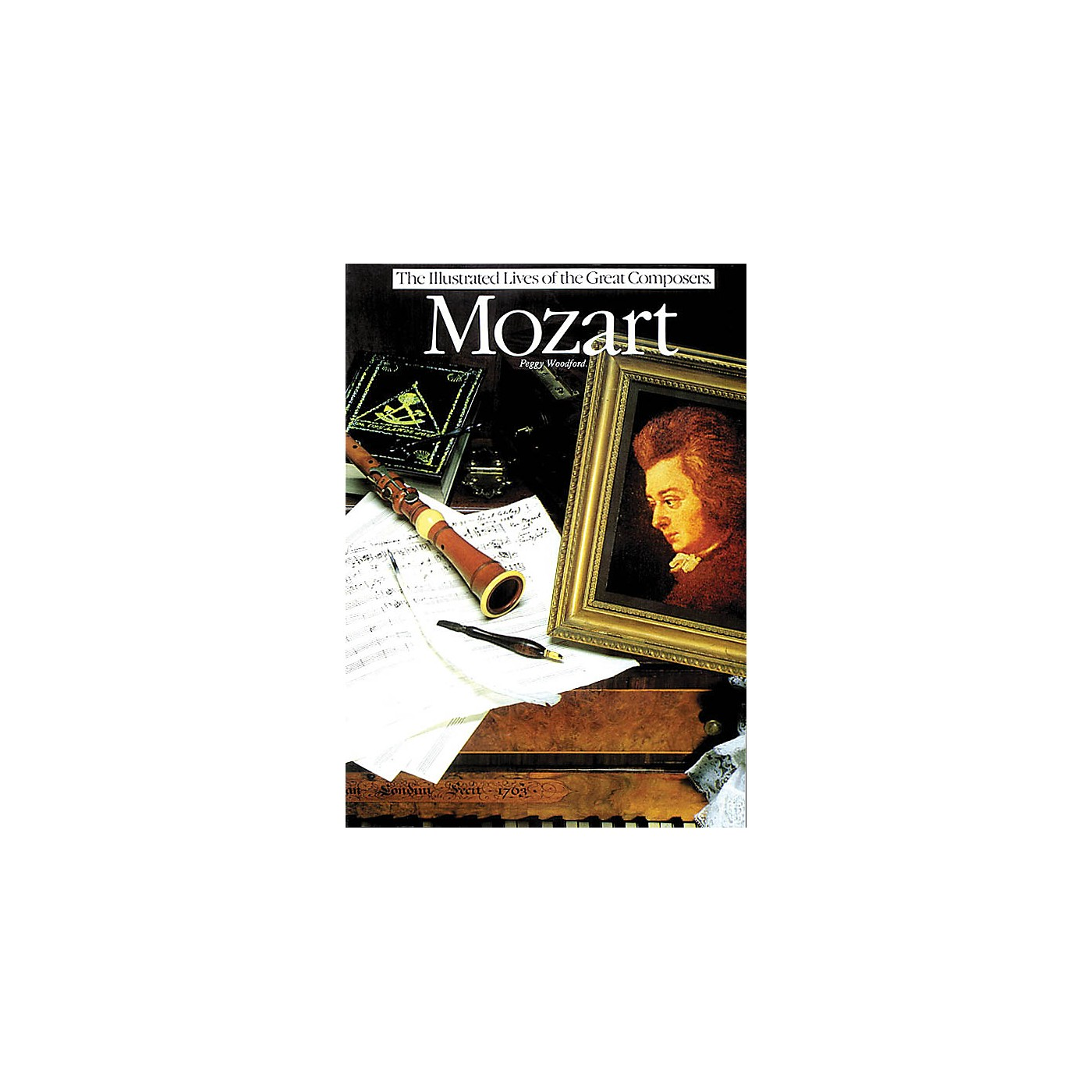 Omnibus Mozart (The Illustrated Lives of the Great Composers Series) Omnibus Press Series Softcover thumbnail