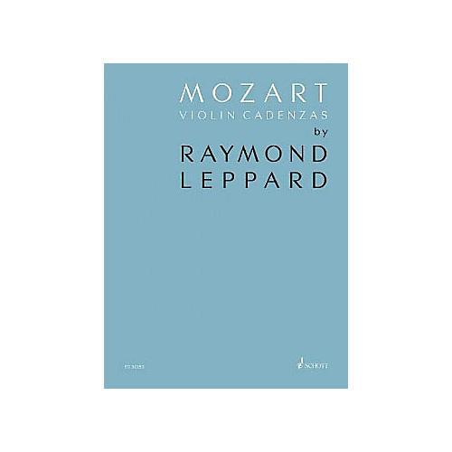 Schott Mozart Violin Cadenzas Composed by Rammond Leppard thumbnail