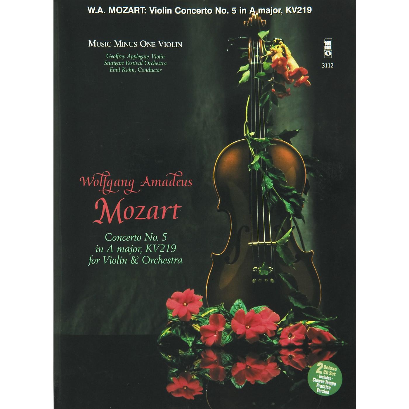 Hal Leonard Mozart Violin Concerto In A thumbnail