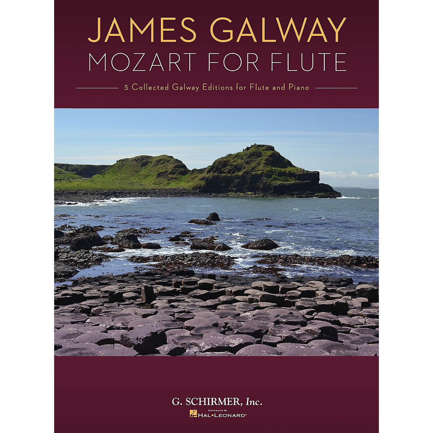 G. Schirmer Mozart for Flute (5 Collected Galway Editions for Flute and Piano) Woodwind Solo Series Softcover thumbnail