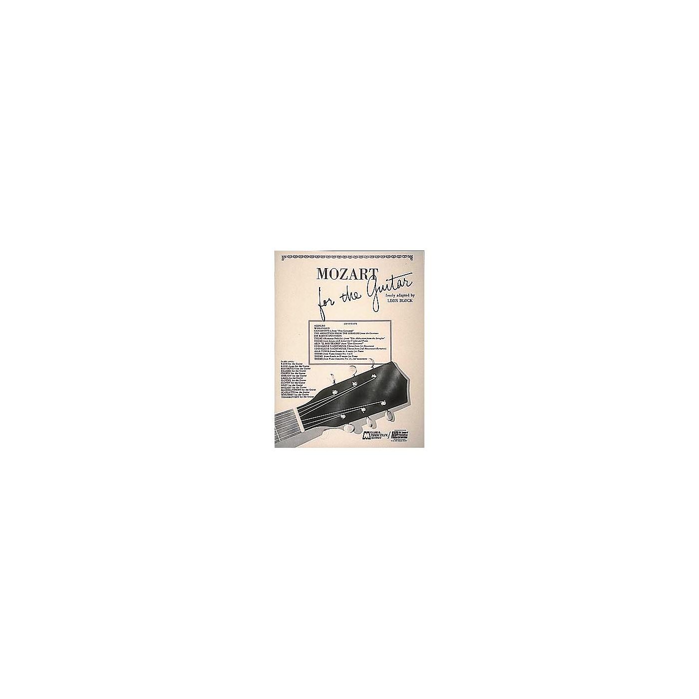 Edward B. Marks Music Company Mozart for Guitar Book thumbnail