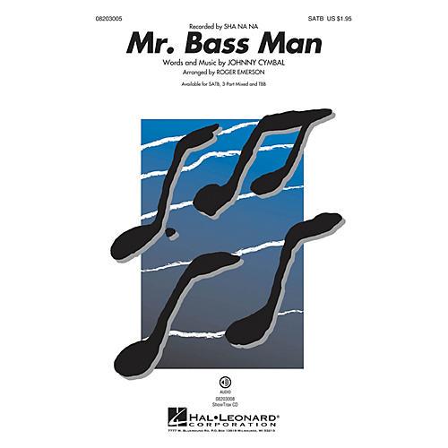 Hal Leonard Mr. Bass Man TBB by Sha Na Na Arranged by Roger Emerson thumbnail