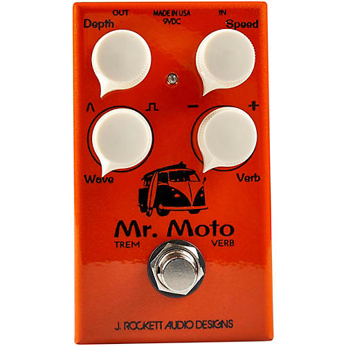 Rockett Pedals Mr. Moto Tremolo and Reverb Effects Pedal thumbnail