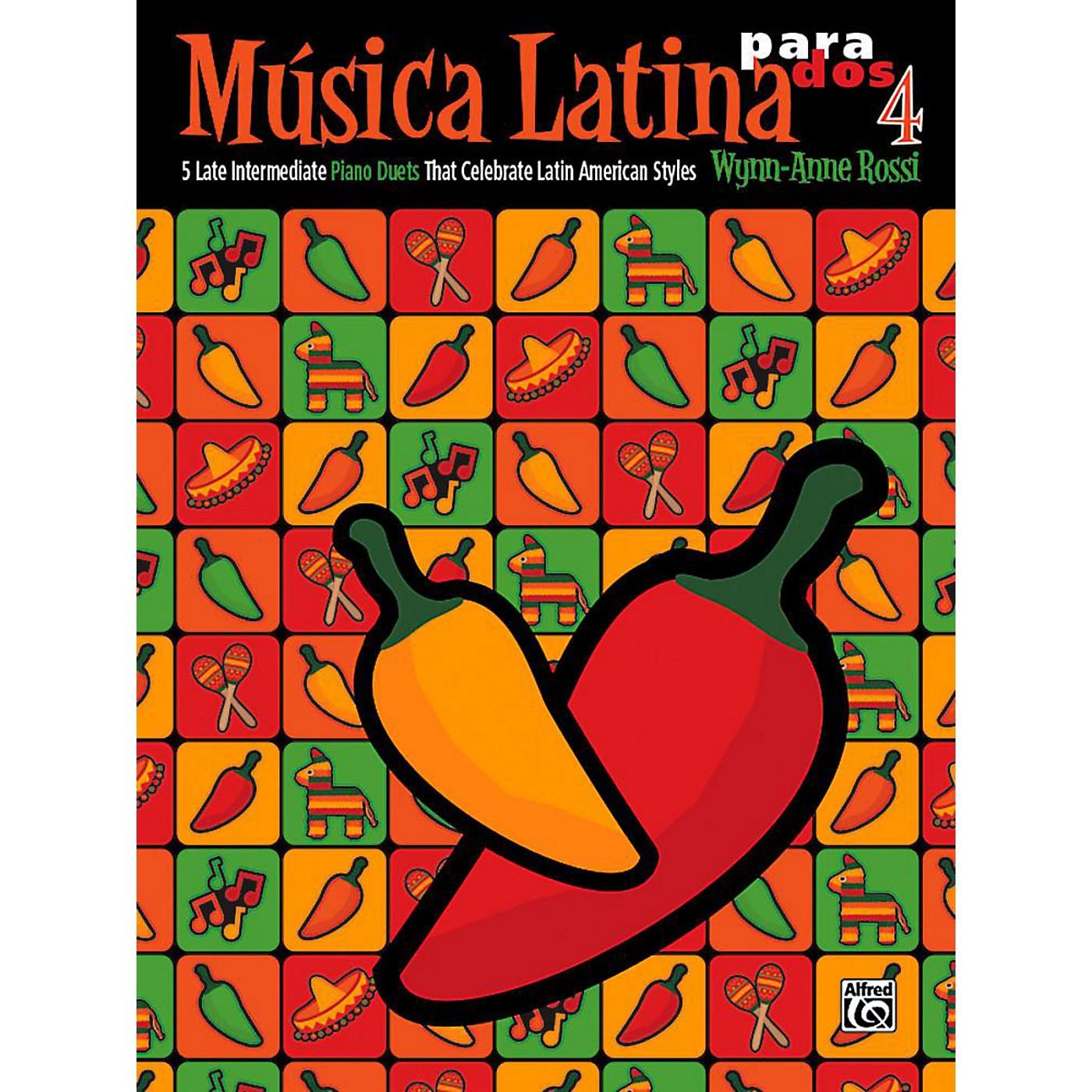 Alfred Mºsica Latina para Dos, Book 4 - Late Intermediate thumbnail