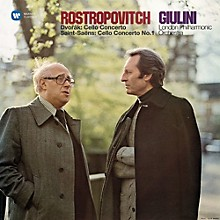 Mstislav Rostropovich - Cello Concerto & Saint-Saens / Cello Concerto No 1