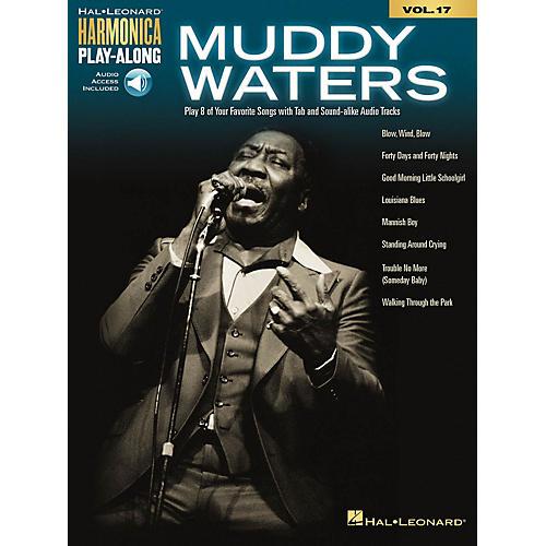 Hal Leonard Muddy Waters Harmonica Play-Along Volume 17 Book/Audio Online thumbnail