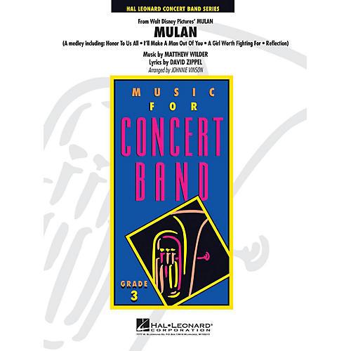 Hal Leonard Mulan Full Score Concert Band thumbnail