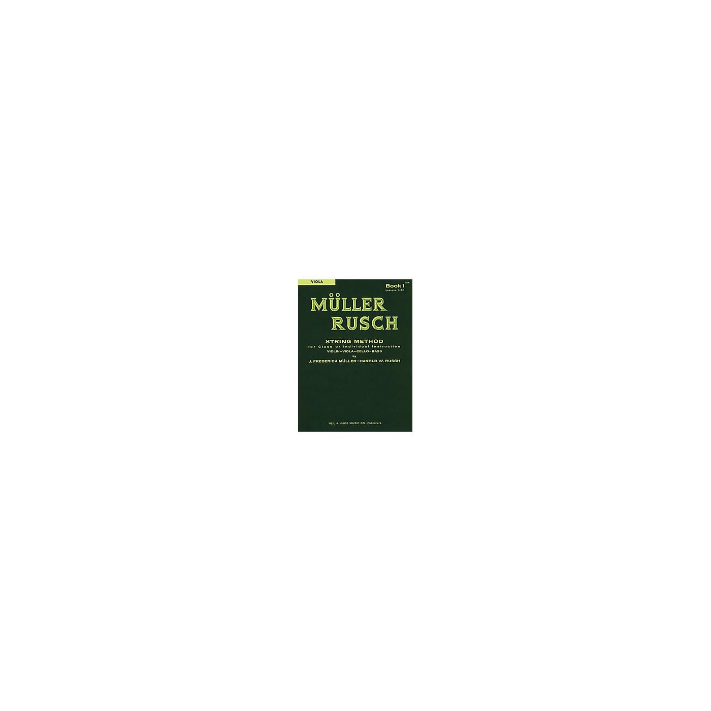 KJOS Muller-Rusch String Method 1 Viola Book thumbnail