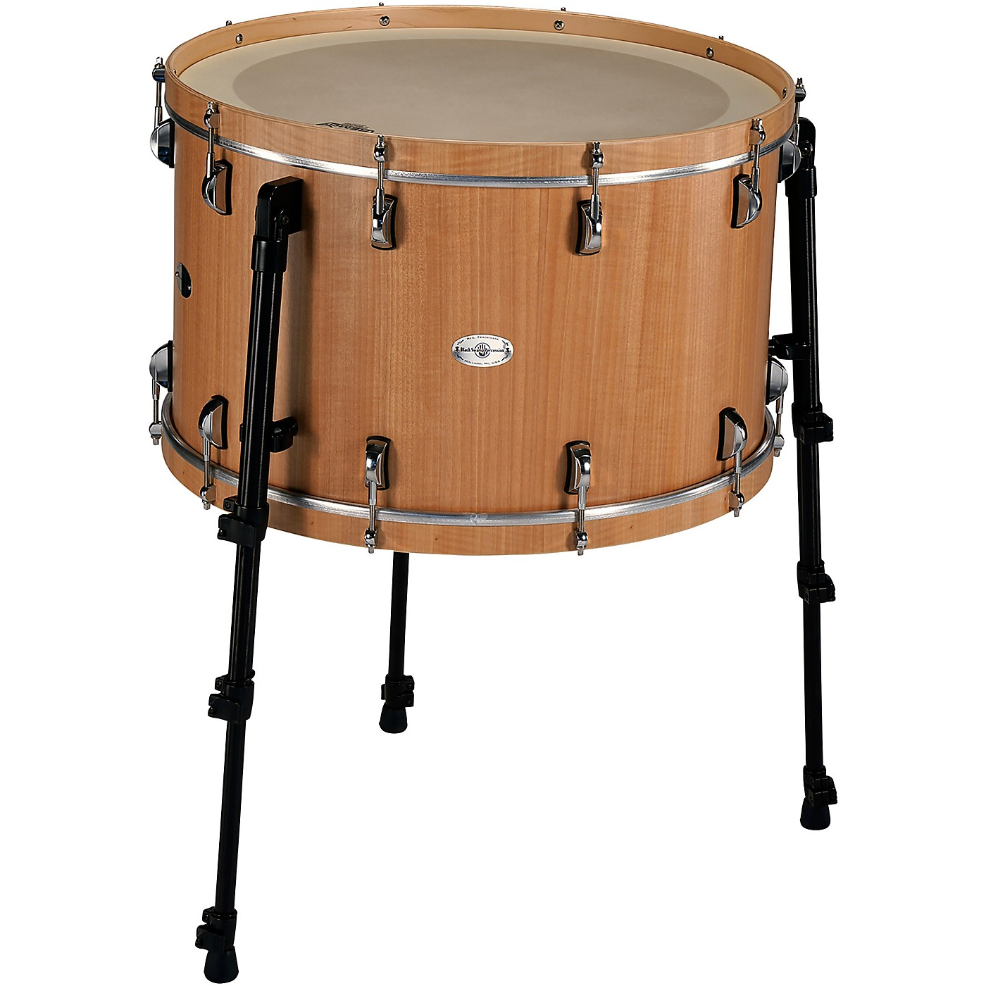 Black Swamp Percussion Multi-Bass Drum in Figured Anigre Veneer thumbnail