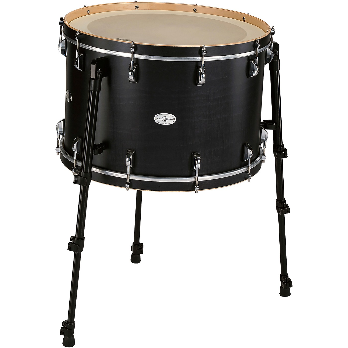 Black Swamp Percussion Multi Bass Drum in Satin Concert Black Stain thumbnail