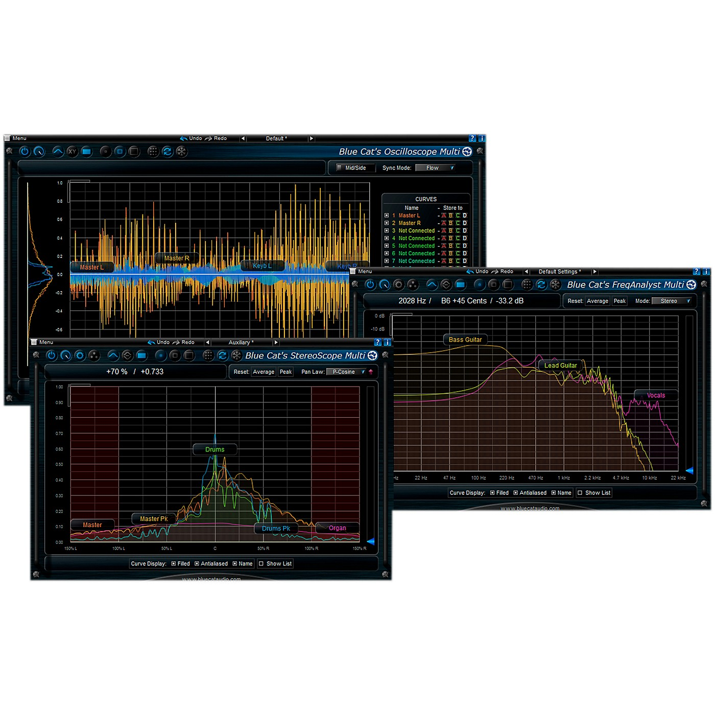 Blue Cat Audio Multi Frequency Analysis Plug-in Pack thumbnail