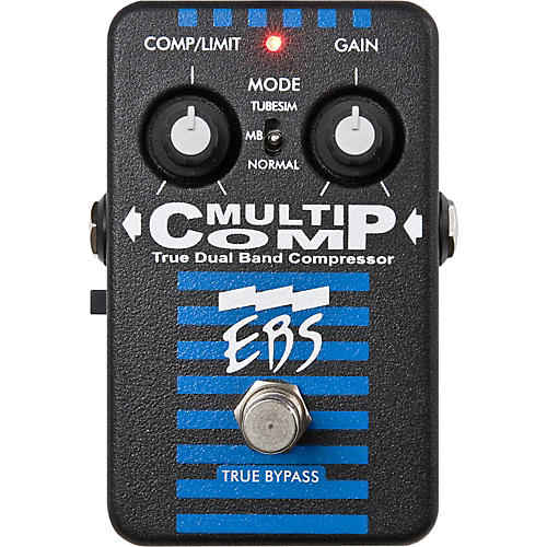 EBS MultiComp True Dual Band Compressor Pedal-thumbnail