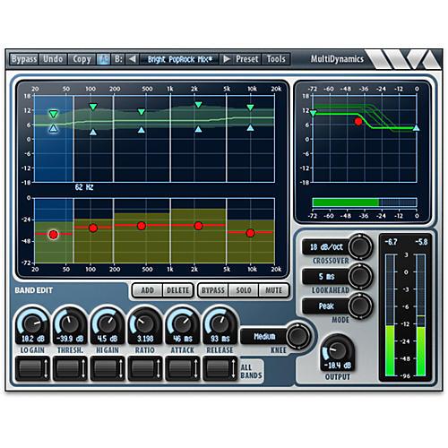 Wave Arts MultiDynamics - AAX DSP Software Download thumbnail