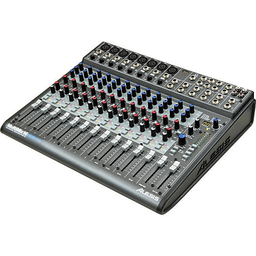 Alesis MultiMix 16 USB 2.0 16-Channel Mixer thumbnail