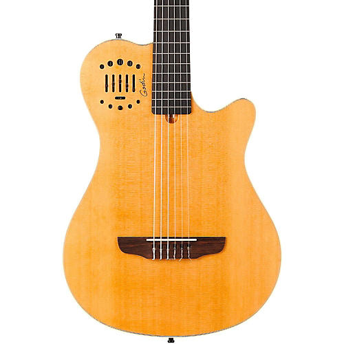 Godin Multiac Grand Concert Duet Ambiance Nylon String Acoustic-Electric Guitar thumbnail