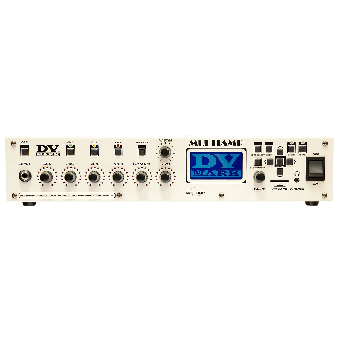 DV Mark Multiamp 3-Channel Preamp/Effects Processor/Power Amp thumbnail