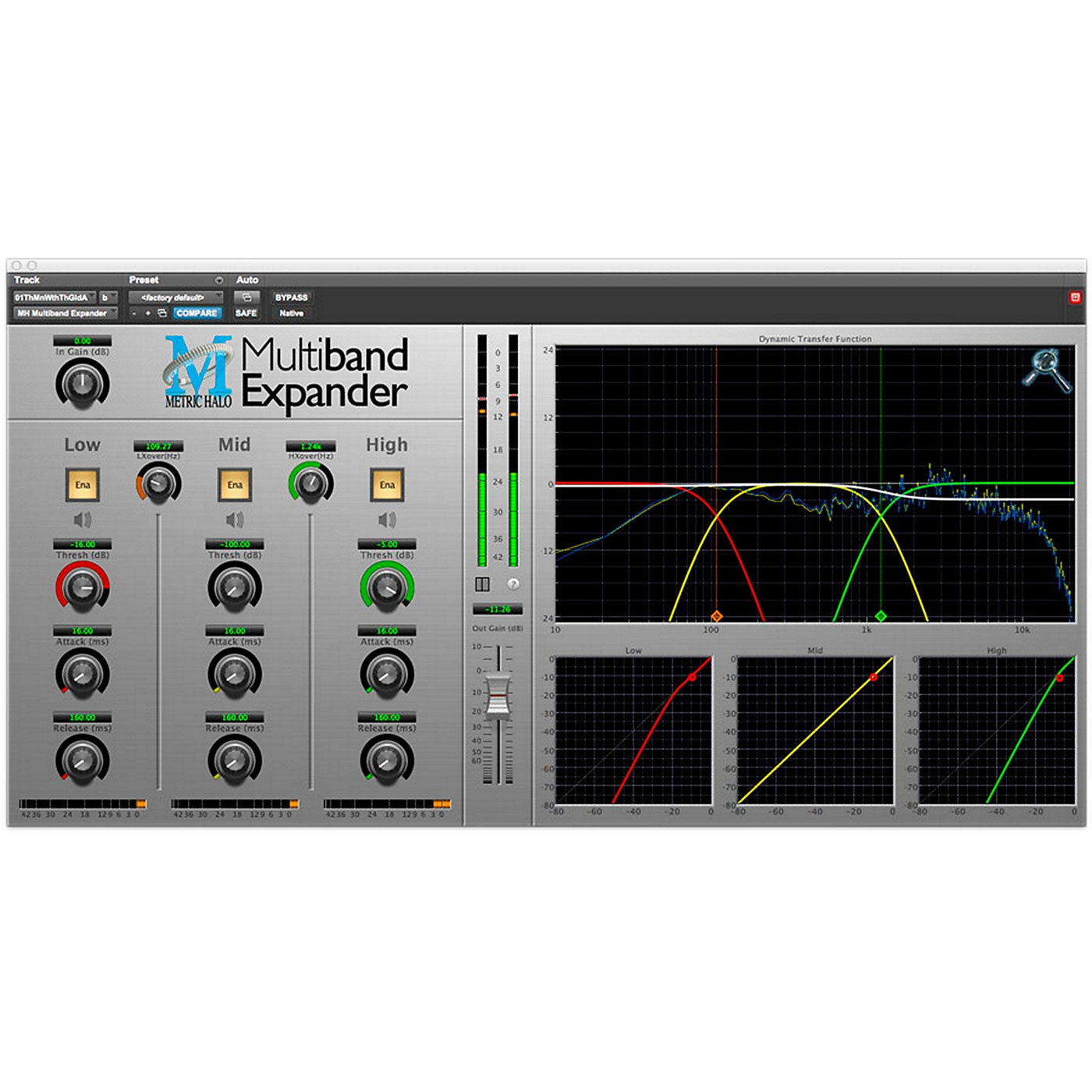 METRIC HALO Multiband Expander for Pro Tools AAX thumbnail