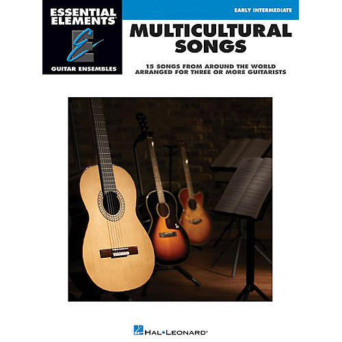 Hal Leonard Multicultural Songs Essential Elements Guitar Series Softcover Performed by Various thumbnail