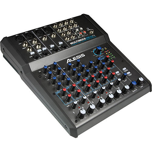 Alesis Multimix 8 USB 2.0 FX 8-Channel Mixer with FX and 24-bit recording thumbnail