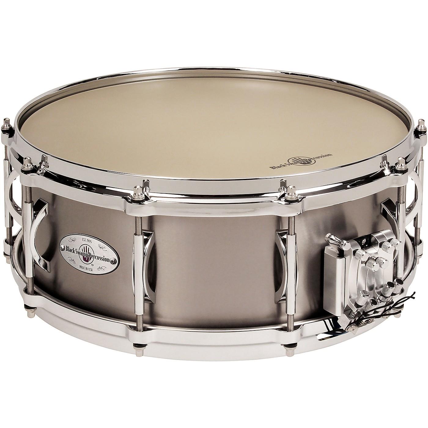 Black Swamp Percussion Multisonic Concert Titanium Elite Snare Drum, 14x5.5 in. thumbnail