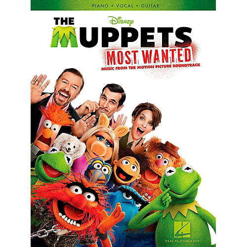 Hal Leonard Muppets Most Wanted - Music From The Motion Picture Soundtrack for Piano/Vocal/Guitar thumbnail