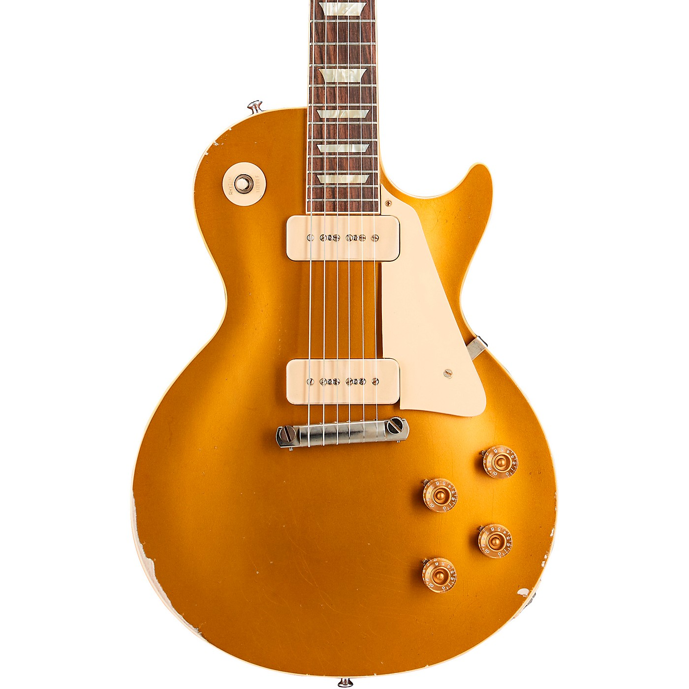 Gibson Custom Murphy Lab 1954 Les Paul Goldtop Reissue Heavy Aged Electric Guitar thumbnail