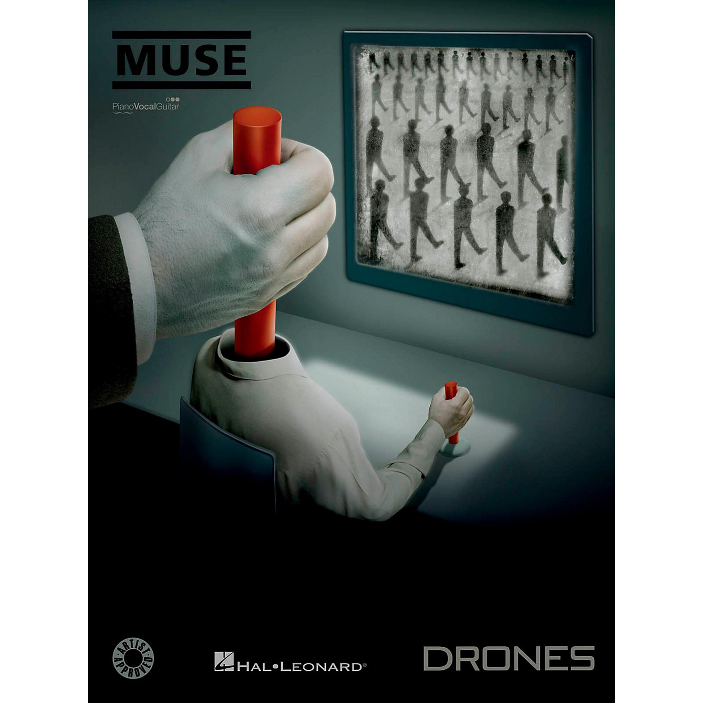Hal Leonard Muse - Drones for Piano/Vocal/Guitar thumbnail