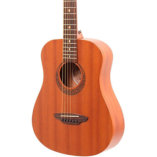 Luna Guitars Muse Safari Series Mahogany 3/4 Dreadnought Travel Acoustic Guitar thumbnail