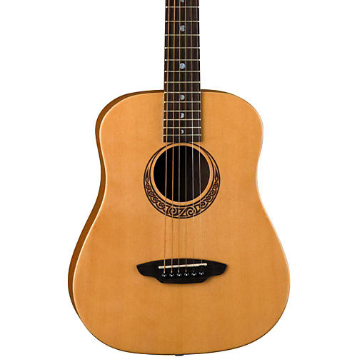 Luna Guitars Muse Safari Series Spruce 3/4 Dreadnought Travel Acoustic Guitar thumbnail
