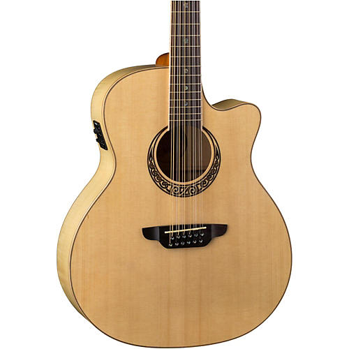 Luna Guitars Muse Spruce Top 12 String Acoustic-Electric Guitar-thumbnail