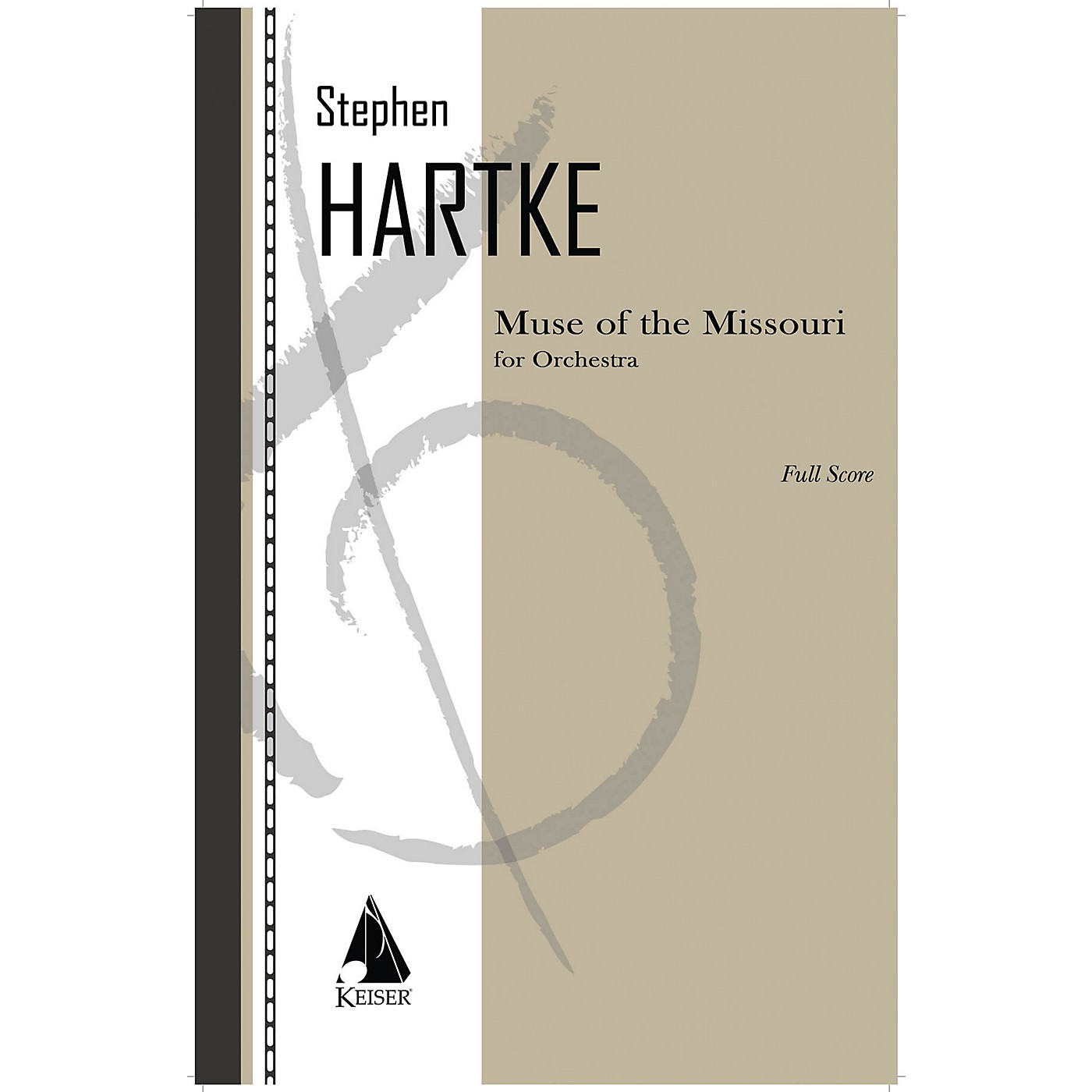 Lauren Keiser Music Publishing Muse of the Missouri for Orchestra - Full Score LKM Music Series Softcover by Stephen Hartke thumbnail