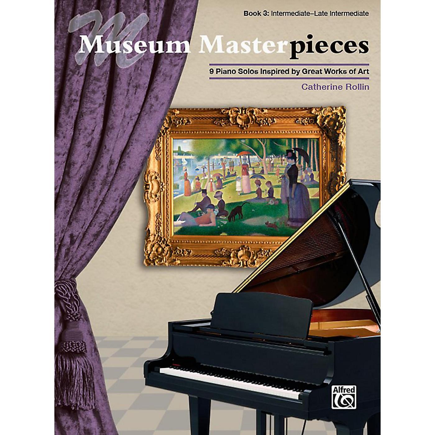 Alfred Museum Masterpieces, Book 3 - Intermediate / Late Intermediate thumbnail
