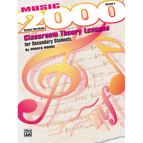 Alfred Music 2000 Classroom Theory Lessons for Secondary Students Vol. I Workbook thumbnail
