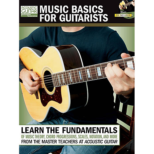 String Letter Publishing Music Basics for Guitarists String Letter Publishing Series Softcover with CD Written by Various thumbnail