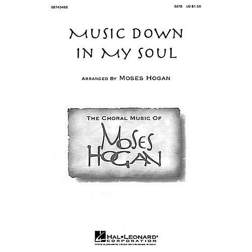 Hal Leonard Music Down in My Soul SATB arranged by Moses Hogan thumbnail