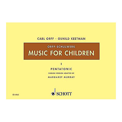Schott Music For Children Vol. 5 Minor - Dominant and Subdominant Triads by Carl Orff arr by Keetman/Murray-thumbnail