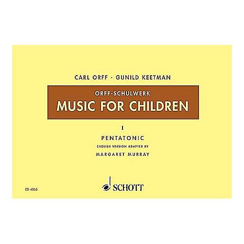 Schott Music For Children Vol. 5 Minor Triads Bordun by Carl Orff arr by Hall/Walter-thumbnail