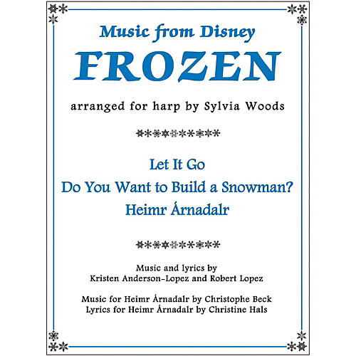 Hal Leonard Music From Disney's Frozen for Harp thumbnail