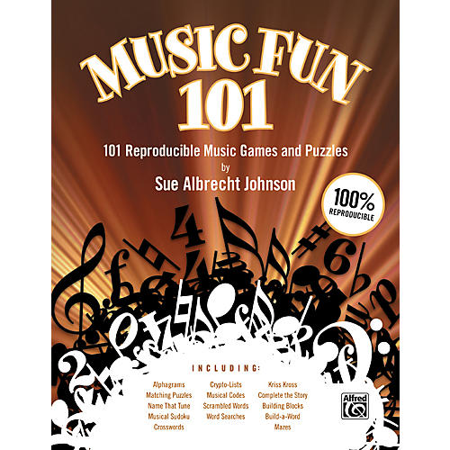 Alfred Music Fun 101 - 101 Reproducible Music Games and Puzzles thumbnail