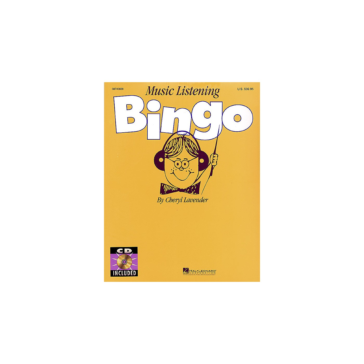 Hal Leonard Music Listening Bingo (Replacement CD (Set of 2)) CD Composed by Cheryl Lavender thumbnail