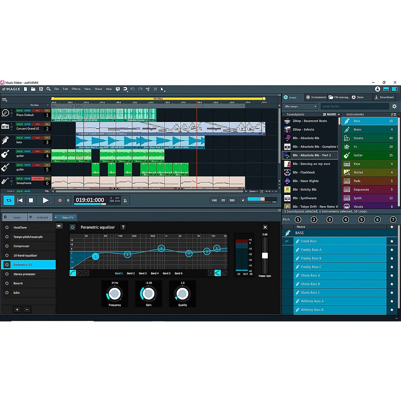 Magix Music Maker 2020 Premium Edition (Download) thumbnail