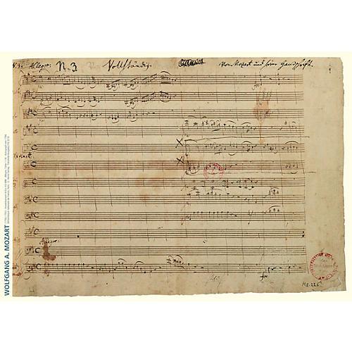 G. Henle Verlag Music Manuscript Notepad thumbnail