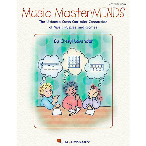 Hal Leonard Music Masterminds - Ultimate Collection of Puzzles and Games Book thumbnail