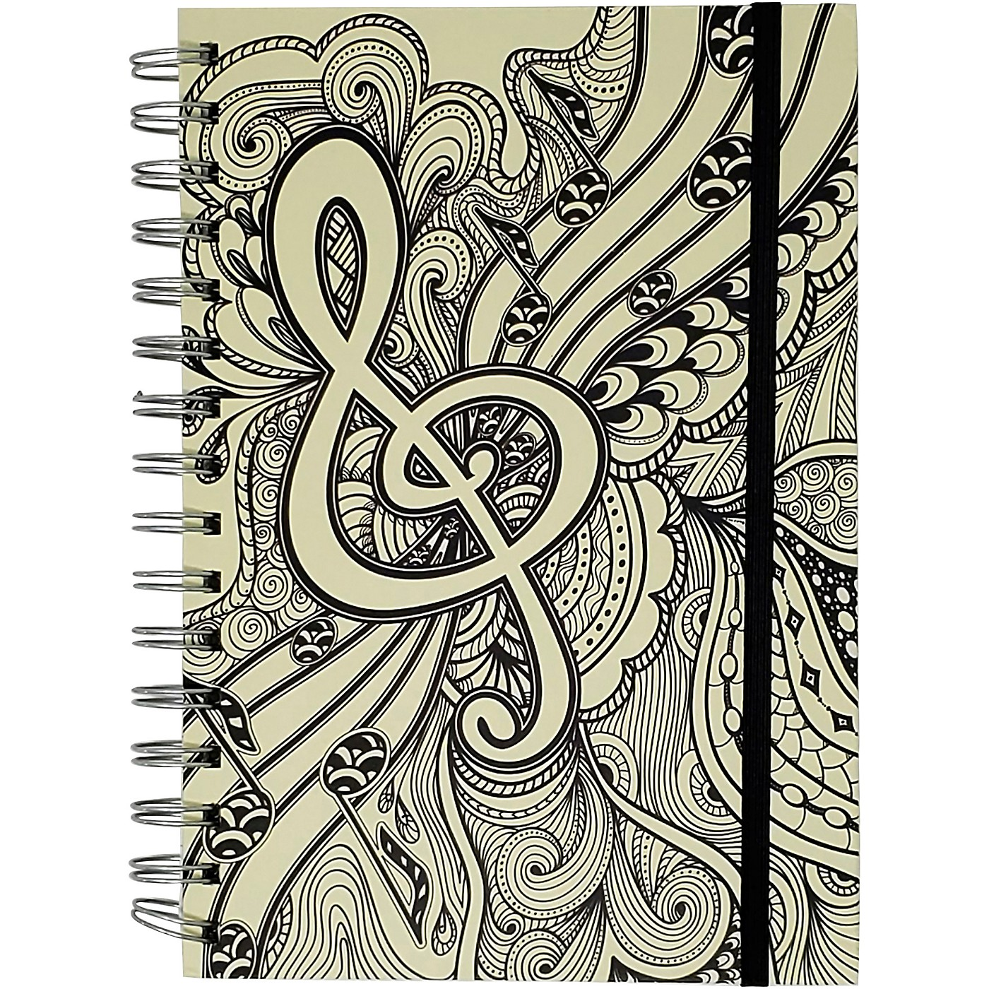 Pyramid America Music Note Line Sketch Premium Journal thumbnail