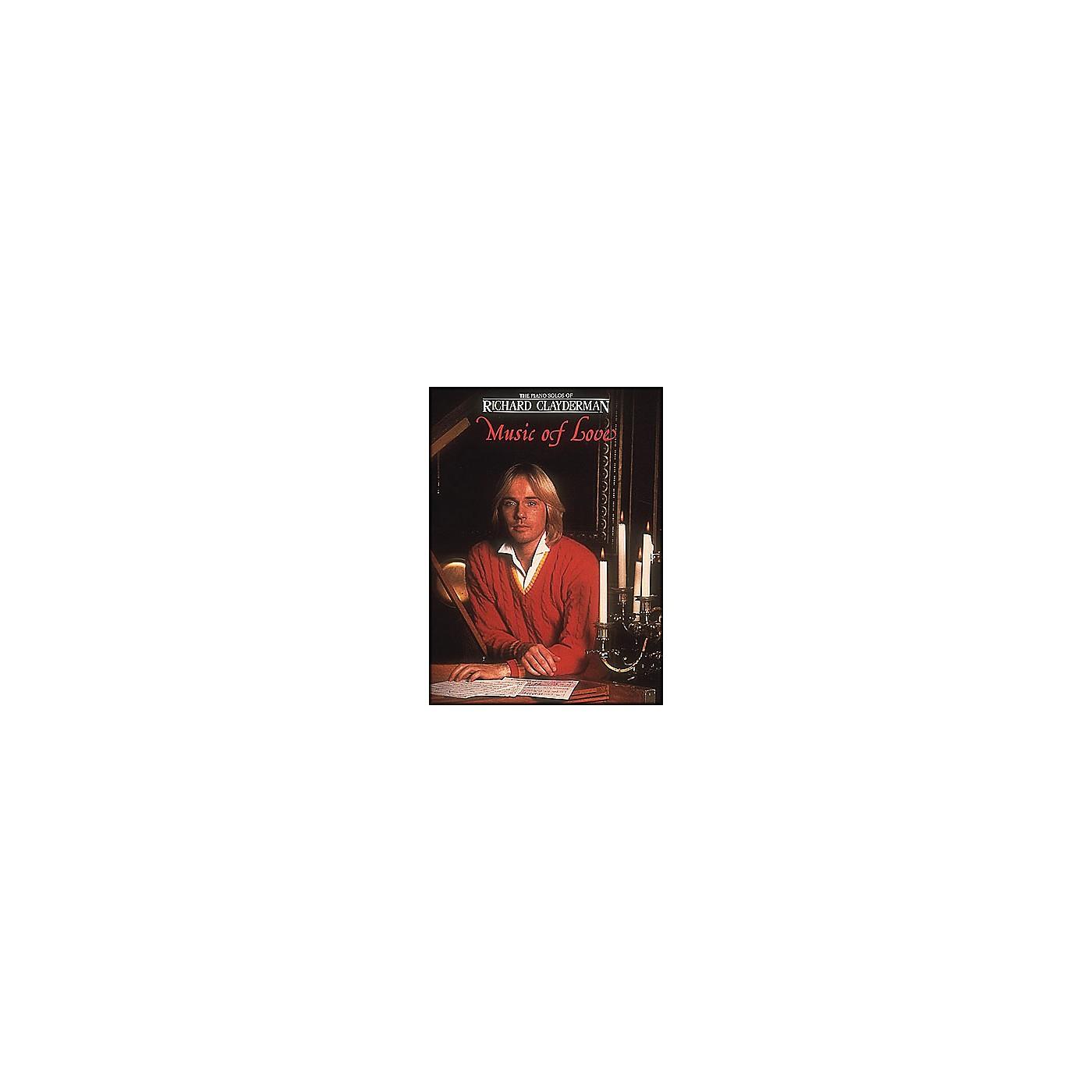 Hal Leonard Music Of Love Piano Solos - Richard Clayderman thumbnail