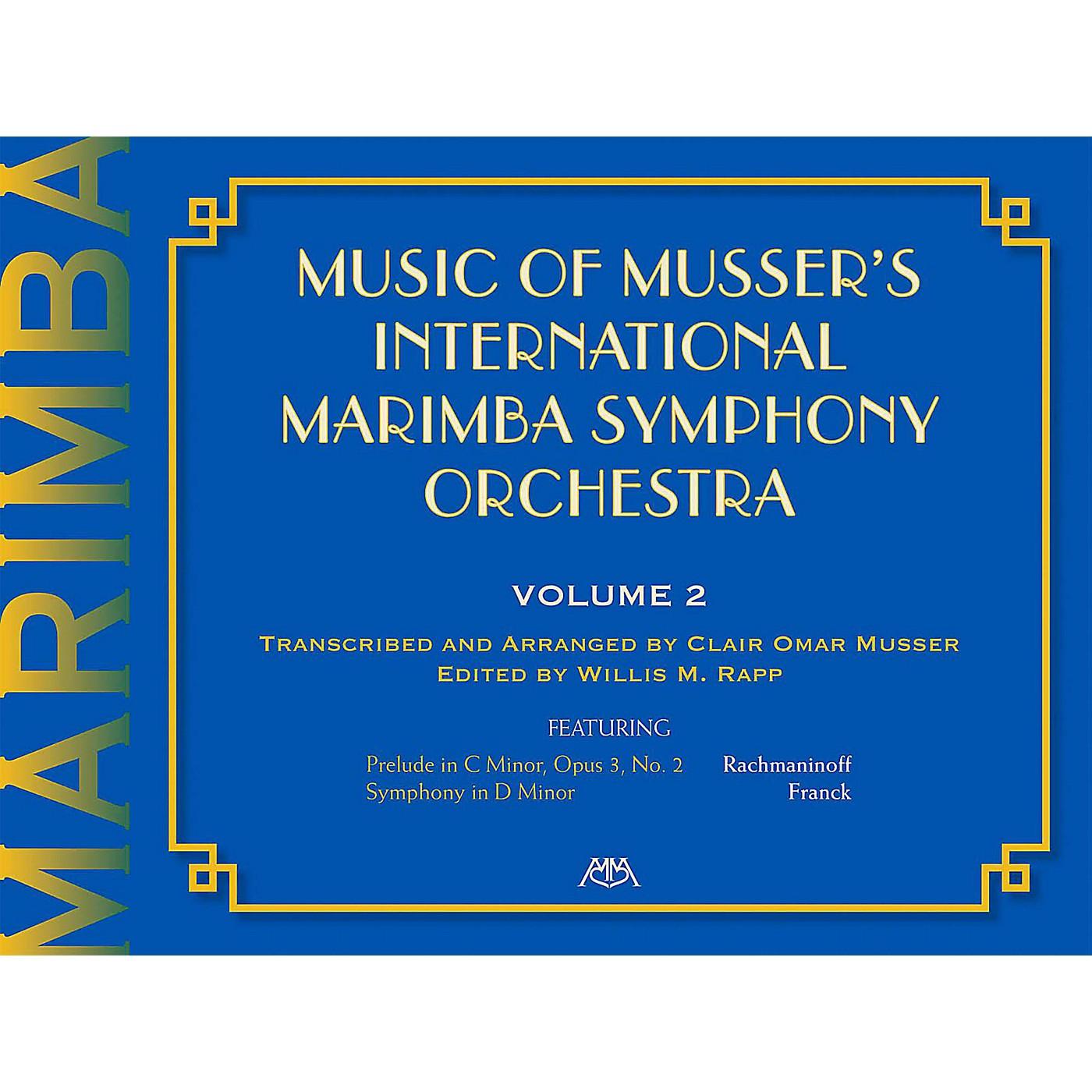 Meredith Music Music Of Musser'S International Marimba Symphony Orchestra Vol. 2 thumbnail