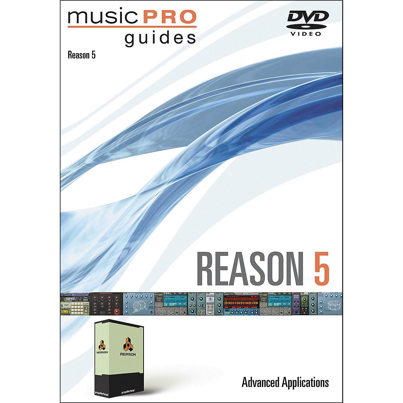 Hal Leonard Music Pro Guide DVD Reason 5 Advanced Applications thumbnail