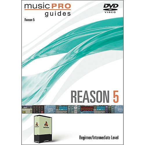 Hal Leonard Music Pro Guide DVD Reason 5 Beginner/Intermediate Level thumbnail